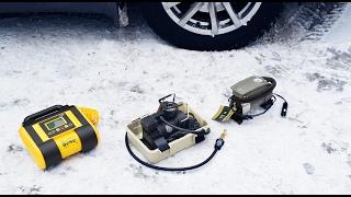 Тест-обзор автомобильных компрессоров: BERKUT R14, КАЧОК K70, SPEC-15