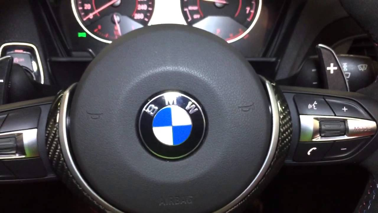 Bmw M Performance M Sport Steering Wheel With Oled Racing
