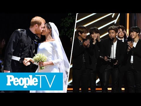 Meghan Markle & Prince Harry's First Dance, BTS Attends The
