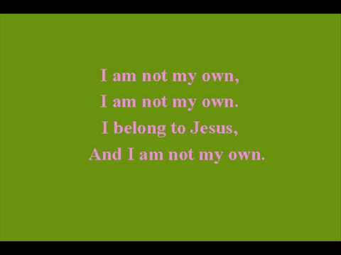 Hymn 452- I am not my own