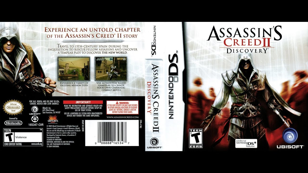 Nds Longplay 17 Assassin S Creed Ii Discovery Part 1 Youtube