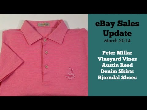 Ebay Sales Update Vineyard Vines Peter Millar Austin Reed Grey S Anatomy Youtube
