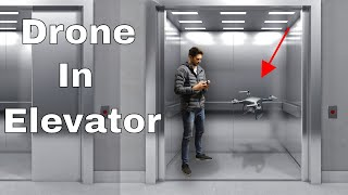 What Happens If You Fly a Drone In An Elevator? Real Experiment!