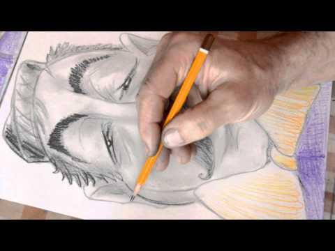 How to draw a Caricature | Как нарисовать карикатуру карандашом