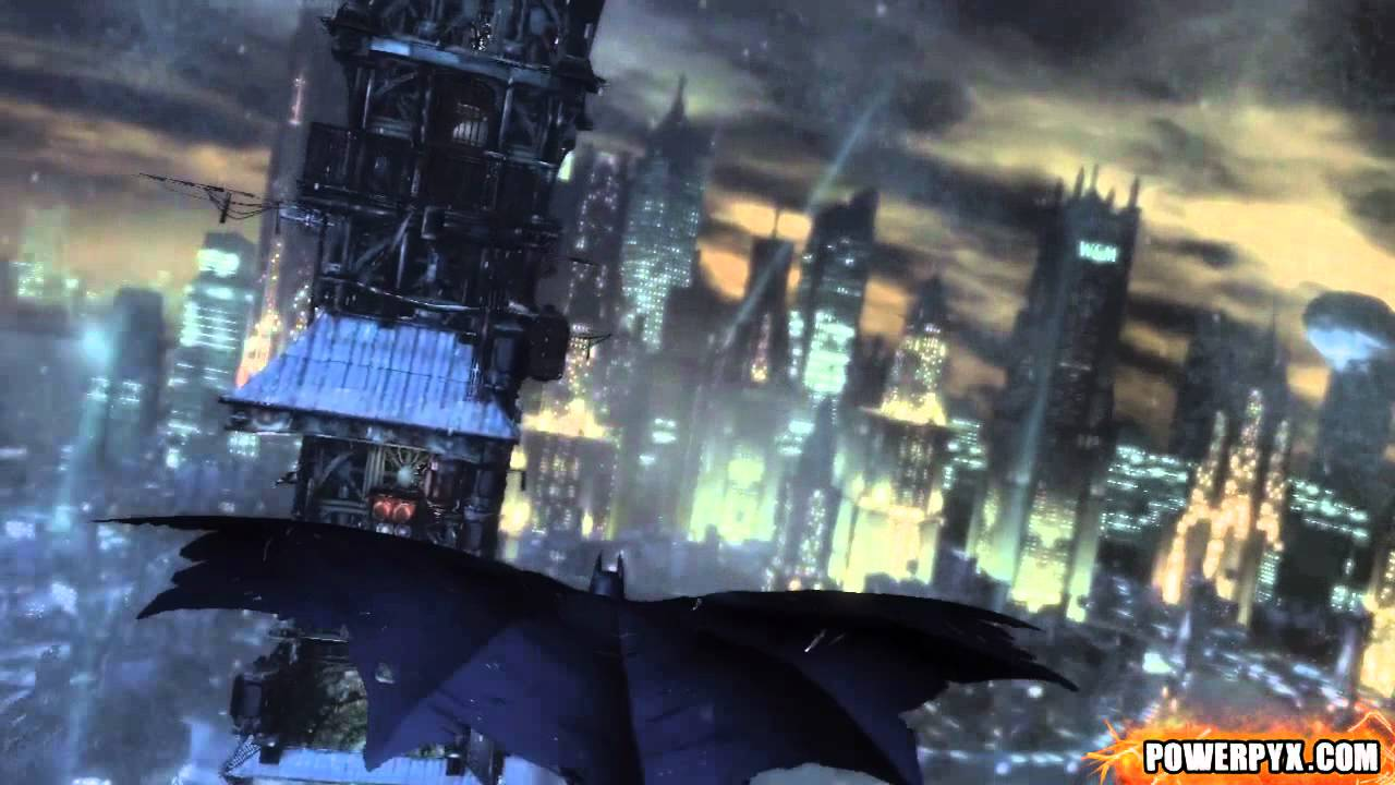 Tallest Building In Arkham City