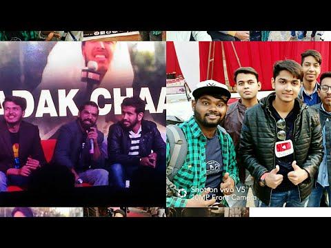 Youtube carnival Lucknow Sadak chaap & S.O.S #2 vlog full Masti all YouTuber Plz watch full Vlog