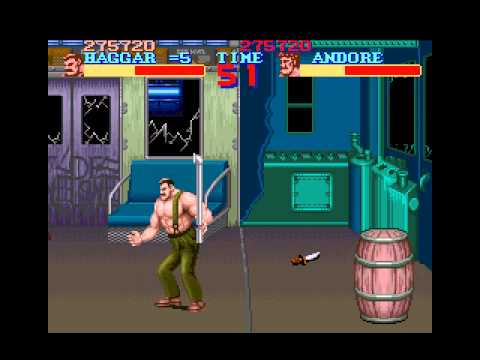 Let's Play Final Fight 01 - Haggar To The Rescue