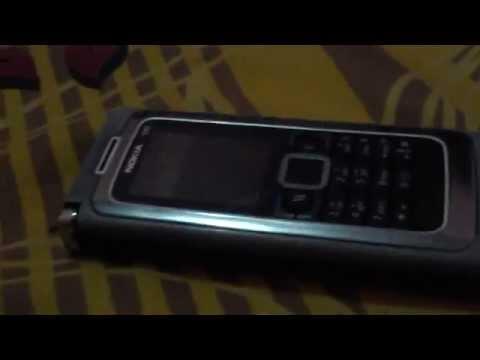 Handphone nokia E90 rusak casing