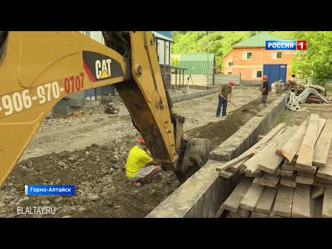 Олег Хорохордин посетил медсанчасть МВД в Горно-Алтайске