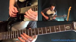 How to play Knockin' On Heaven's Door Pt.2 - Guns N' Roses - The Solos