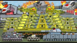 ВСЕ СЕРИИ стальные монстры - Мультики про танки
