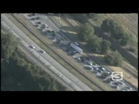Sacramento Crash Clogs I-5 Traffic
