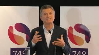 Video: Macri en el cierre de la Asamblea de la SIP en Salta
