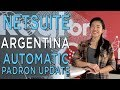 NetSuite Argentina and Automatic Padron Update