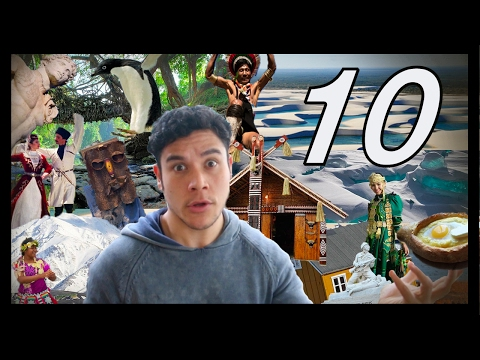 My TOP 10 travel destinations...(Geography Now!)