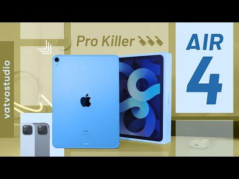 Đánh giá nhanh iPad Air 2020: so sánh với iPad Pro thì sao?