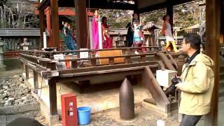 氷室神社にてインドムービーダンス \Deewangi Deewangi\