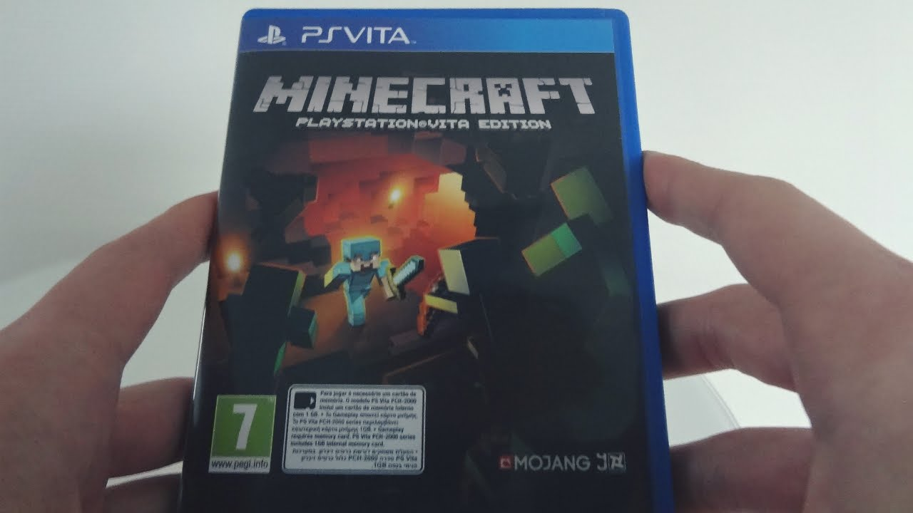 how to get minecraft on ps vita