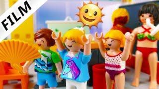 Playmobil Film deutsch   HITZEFREI IN SCHULE - Unterricht in Badehose   Kinderfilm Familie Vogel