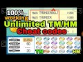 All TM HM Cheat Codes Proof Working mp3