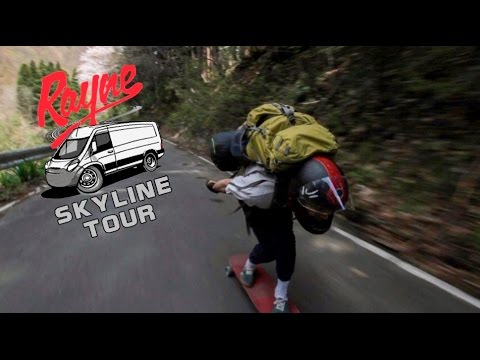 Rayne Longboards Skyline Tour Ep 2 - Skating a Closed Mountain