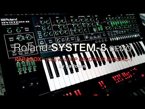 ROLAND SYSTEM-8 DEMO by gattobus