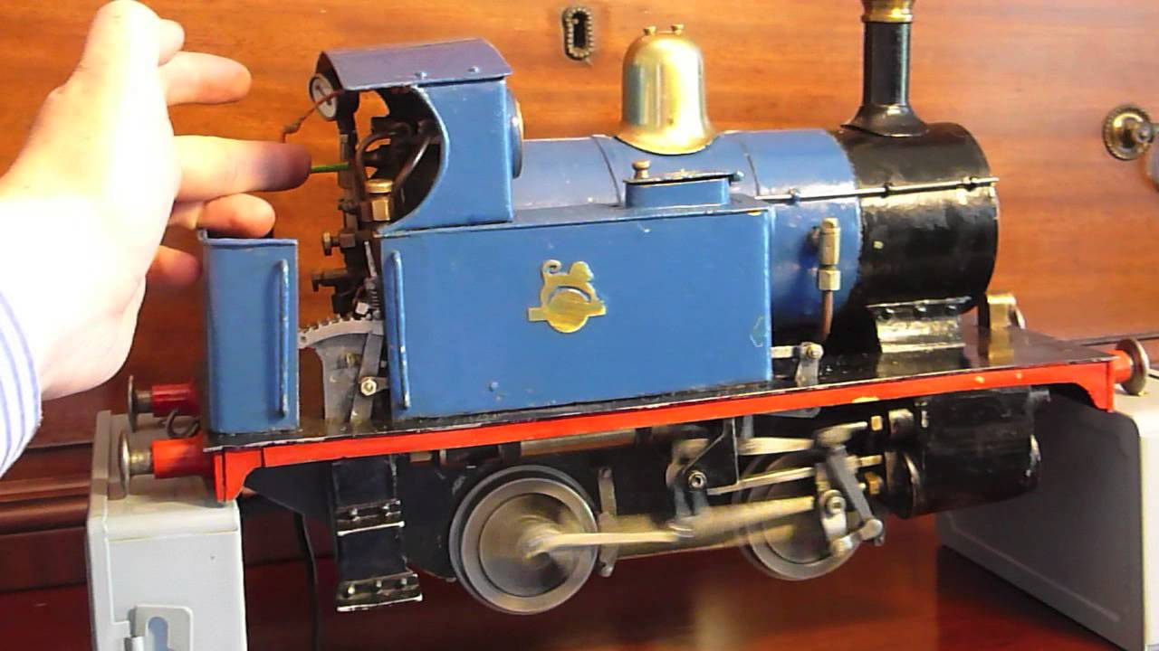 Tich 3 5 inch gauge Model Steam Locomotive - Thủ thuật máy