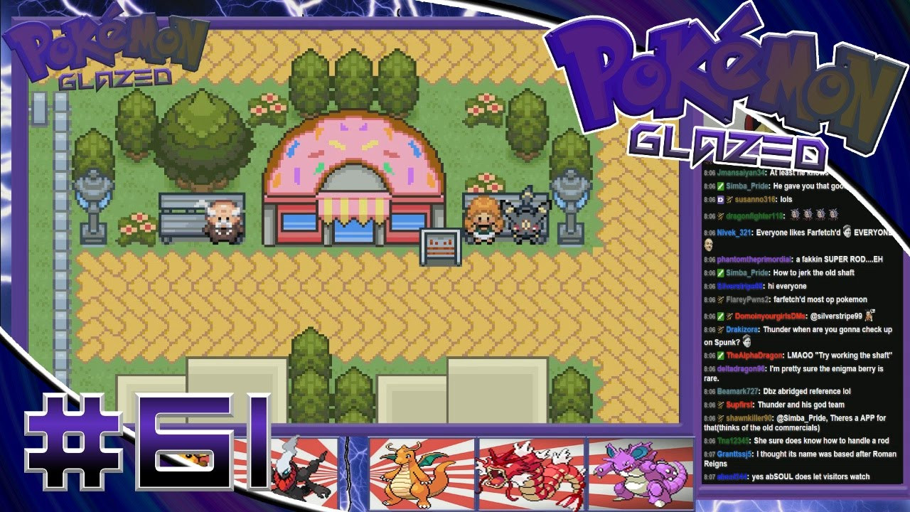 pokemon glazed rankor island walkthrough