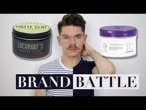 Lockhart's vs. British Barbers' Association Clay | Brand Battle