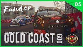 Onboard David Reynold's V8 Supercar, Gold Coast