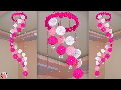 WOW !!! Beautiful DIY Wind Chime || Wall Hanging Craft Idea !!!