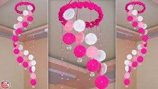 WOW !!! Beautiful DIY Wind Chime || Wall Hanging Craft Idea !!!