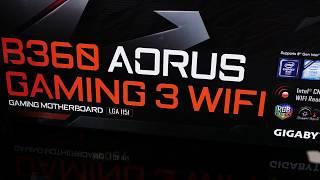 Gigabyte Aorus Gaming 3 WIFI : материнская плата для Intel Cofee Lake на чипсете B360