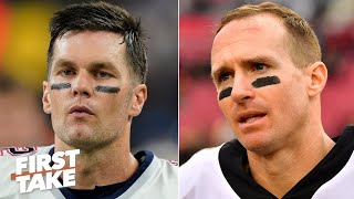 Gambar cover Tom Brady vs. Drew Brees: Which QB would you rather have? | First Take