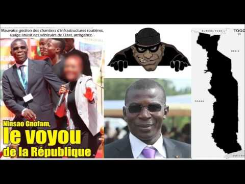 Togo [Gnassingbéland]: Ministre Ninsao Gnofam, le voyou de la République