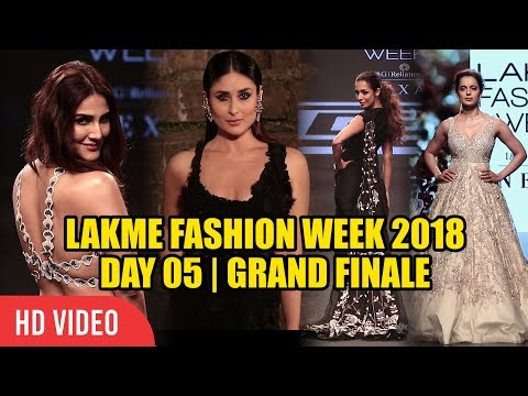 Lakme Fashion Week 2018 Day 05 Full Video | #LFW GRAND FINALE 2018 | Viralbollywood
