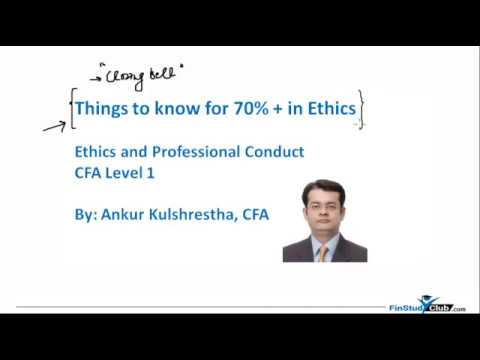Closing Bell: Want 70% + in Ethics CFA L1?