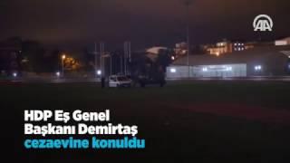 Selahattin Demirtaş Edirne'de cezaevine konuldu