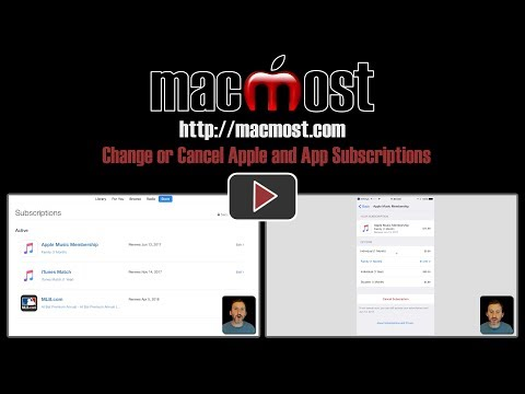 Change or Cancel Apple and App Subscriptions (#1423)