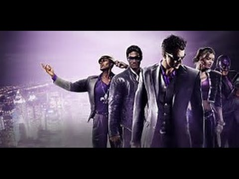 saints row the third gameplay part 1 (funny character and bobbleheads)