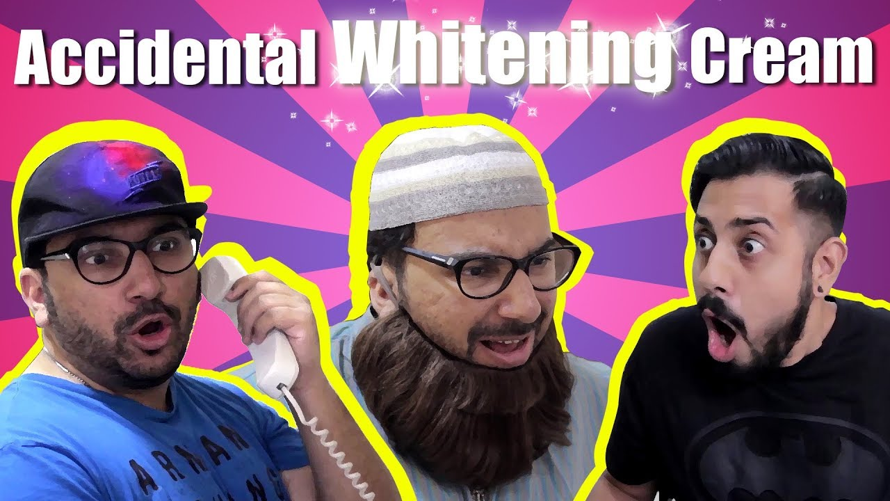 Accidental Whitening Cream | Bekaar Films | Lame Brown Dude