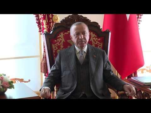 Turkish President Tayyip Erdogan hosts EU Council President Michel in Istanbul