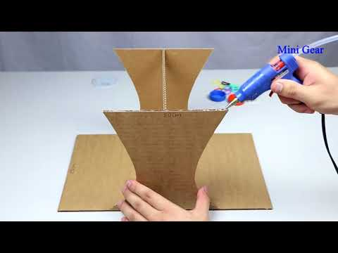 How to Make Marble Desktop Game from Cardboard   YouTube