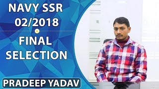 Tips to clear Navy AA and SSR Exam by a selected student
