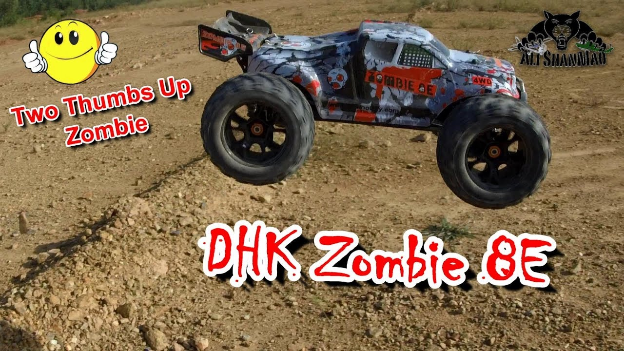 Bash the Zombie DHK Hobby Zombie 8E 4WD Electric Off Road RC Truggy