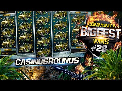 CasinoGrounds Community Biggest Wins #28 / 2017