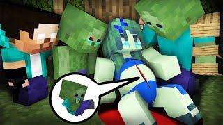Monster Zombie : New Baby Zombie Sad Life 38 - Minecraft Animation