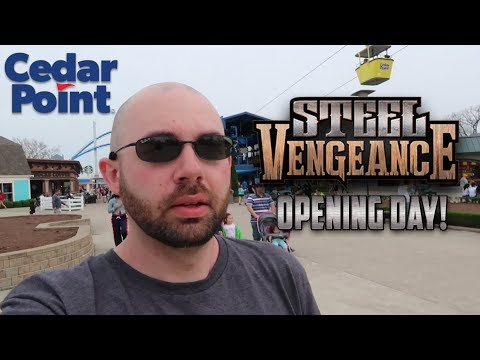 Cedar Point Opening Day. Steel Vengeance Accident. Face Reveal & 2020 Predication! Zero-G Vlog #1