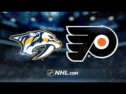 Rinne, Sissons help Predators blank Flyers, 1-0