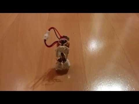 Tiny robot with ATTiny brain